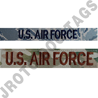 Air Force Name Tapes