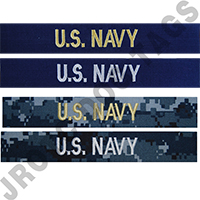 Navy Name Tapes