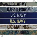 NAME TAPES SEW ON ALL SERVICE UNIFORMS