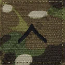 PV2 OCP MULTICAM ACTIVE DUTY ARMY RANK (EACH)