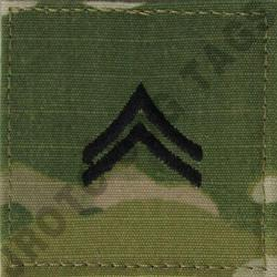 CPL OCP ARMY ACTIVE DUTY RANK MULTICAM (EACH)