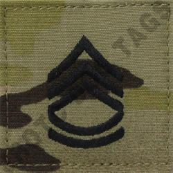 SFC OCP ARMY RANK ACTIVE DUTY MULTICAM (EACH)