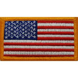 US FLAG PATCH FORWARD FULL COLOR (EACH)