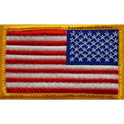 US Flag Patch Reverse Full Color