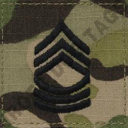 MSG OCP ARMY RANK ACTIVE DUTY MULTICAM (EACH)