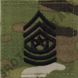 CSM OCP ARMY RANK ACTIVE DUTY MULTICAM (EACH)